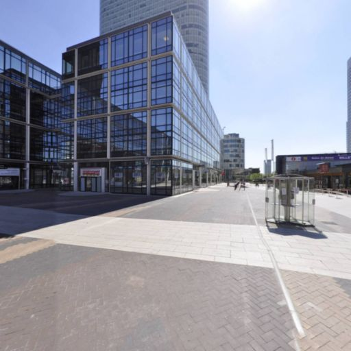 Centre - Grande Arche - Parking public - Courbevoie