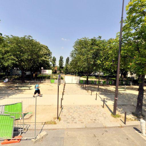 Square de la Rue Rene Binet - Parc, jardin à visiter - Paris