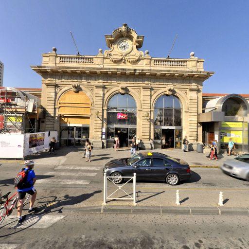 Gare de Toulon - Transport ferroviaire - Toulon