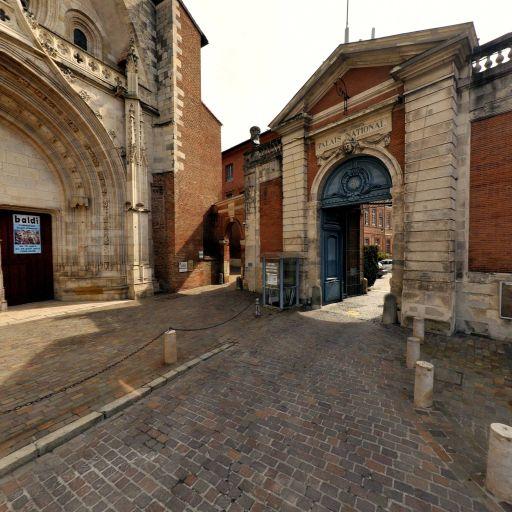 Cathédrale Saint-Étienne - Parking public - Toulouse