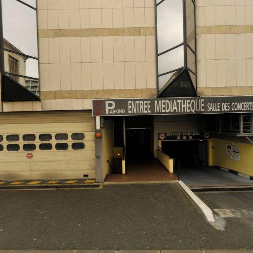Parking Médiathèque - Parking - Le Mans