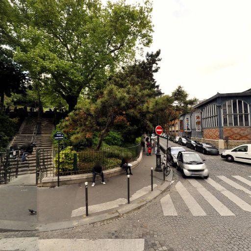 Square Louise Michel - Parc, jardin à visiter - Paris