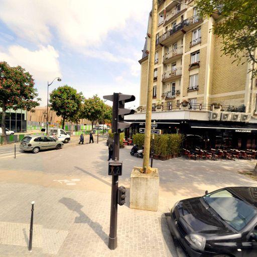 Station Vélib' René Binet - Porte de Montmartre - Vélos en libre-service - Paris