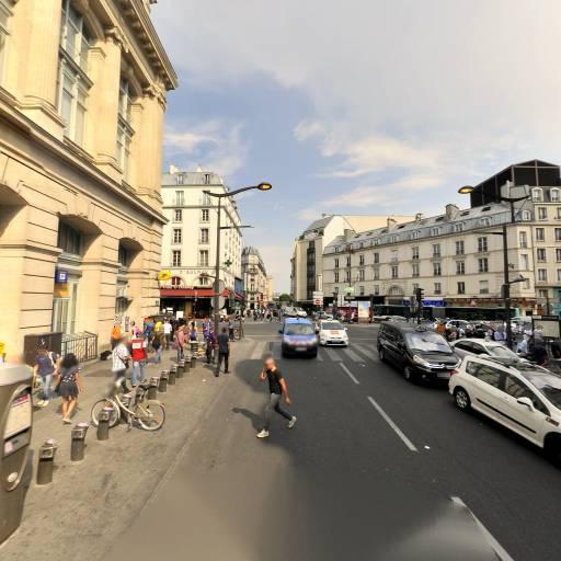 Station Vélib' Gare du Nord - Faubourg Saint-Denis - Vélos en libre-service - Paris