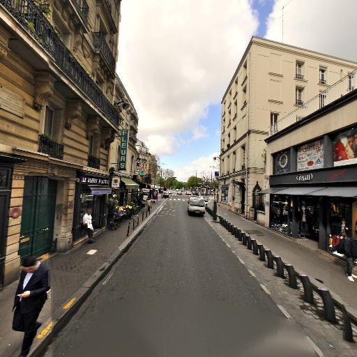 Station Vélib' Porte d'Auteuil - Vélos en libre-service - Paris