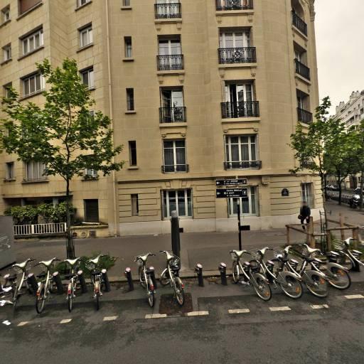 Station Vélib' Molitor - Michel-Ange - Vélos en libre-service - Paris