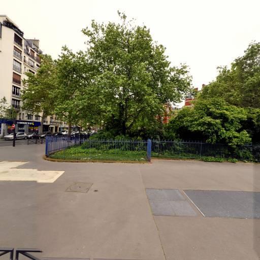 Square De l'Amérique Latine - Parc et zone de jeu - Paris
