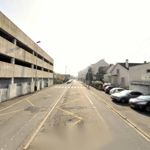 Parking Indigo Psr - Parc De La Gare - Parking public - Melun