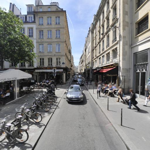 Station Vélib' Jean-Jacques Rousseau - Deux Ecus - Vélos en libre-service - Paris