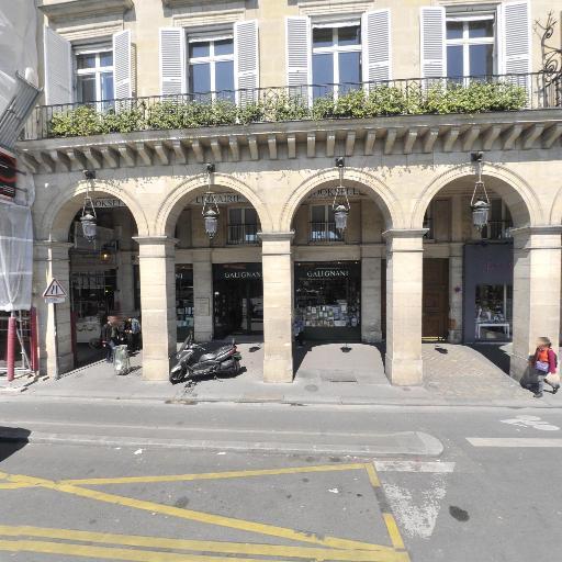 Librairie Galignani - Librairie - Paris
