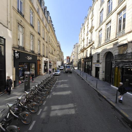 Station Vélib' Saint-Honoré - 29 juillet - Vélos en libre-service - Paris