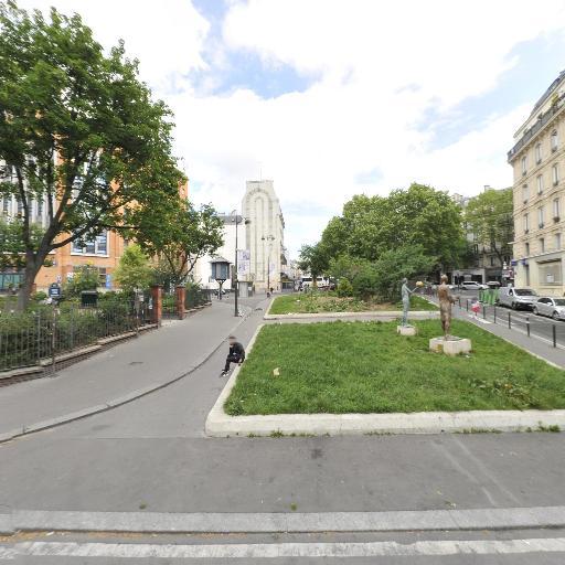 Magenta Alban Satragne - Parking public - Paris