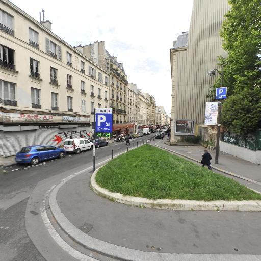 Station Vélib' Square Alban Satragne - Vélos en libre-service - Paris