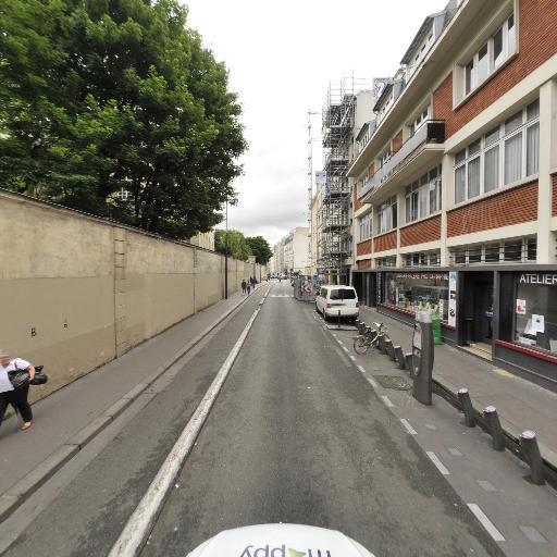Station Vélib' Récollets - Square Villemin - Vélos en libre-service - Paris