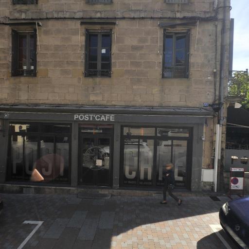 Le Café De La Poste - Café bar - Brive-la-Gaillarde