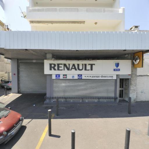 Garage Doury Les Bleus - Carrosserie et peinture automobile - Marseille