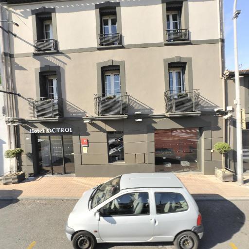 Hôtel De L'octroi - Restaurant - Carcassonne