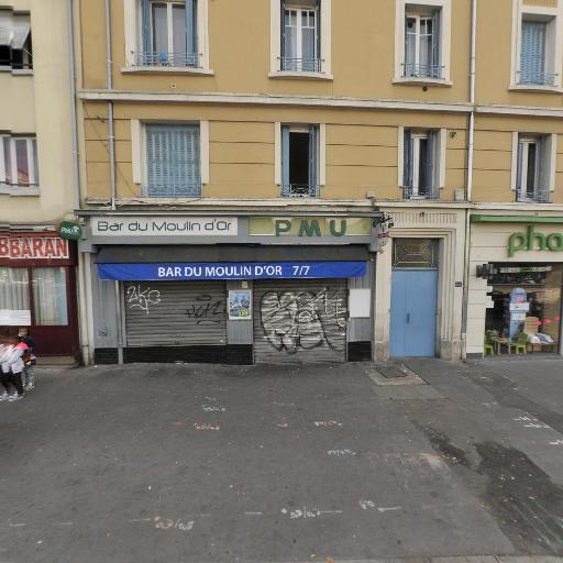Bar du Moulin D'Or - Café bar - Lyon