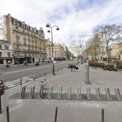 Station Vélib' Place Pasdeloup - Vélos en libre-service - Paris