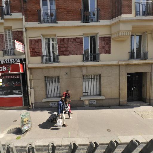 Station Vélib' Pelleport - Belgrand - Vélos en libre-service - Paris