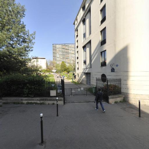 Square Pixerecourt - Parc et zone de jeu - Paris