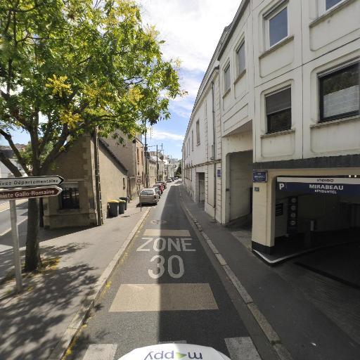 Parking Mirabeau - Abonnés - Parking public - Tours