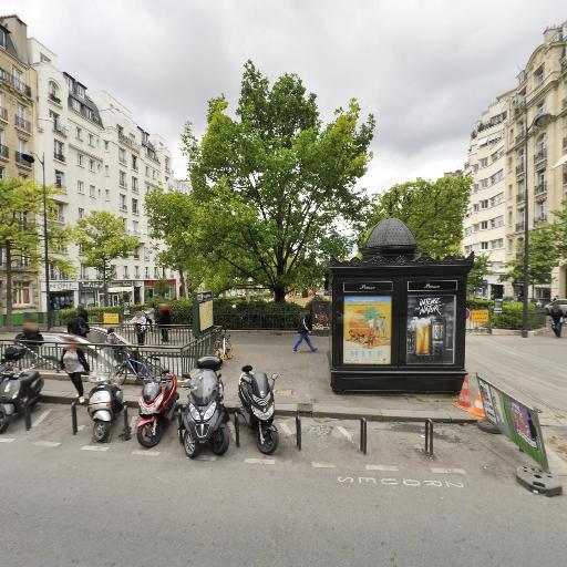 Station Vélib' Place Adolphe Cherioux - Vaugirard - Vélos en libre-service - Paris