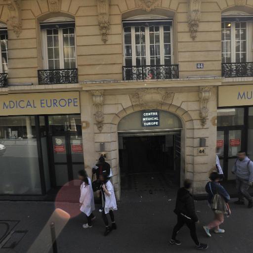 Centre Médical Europe - Orthophoniste - Paris