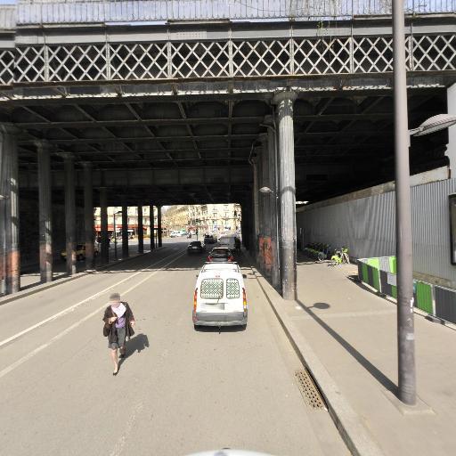 Station Vélib' Place Balard - Vélos en libre-service - Paris