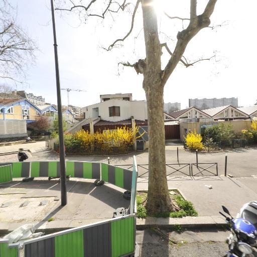 Station Vélib' Parc Georges Brassens - Brancion - Vélos en libre-service - Paris