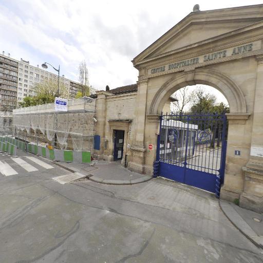Dépistage COVID - CH SAINTE ANNE - Santé publique et médecine sociale - Paris
