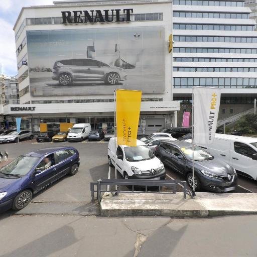 Renault Paris Rive Gauche - Location d'automobiles de tourisme et d'utilitaires - Paris